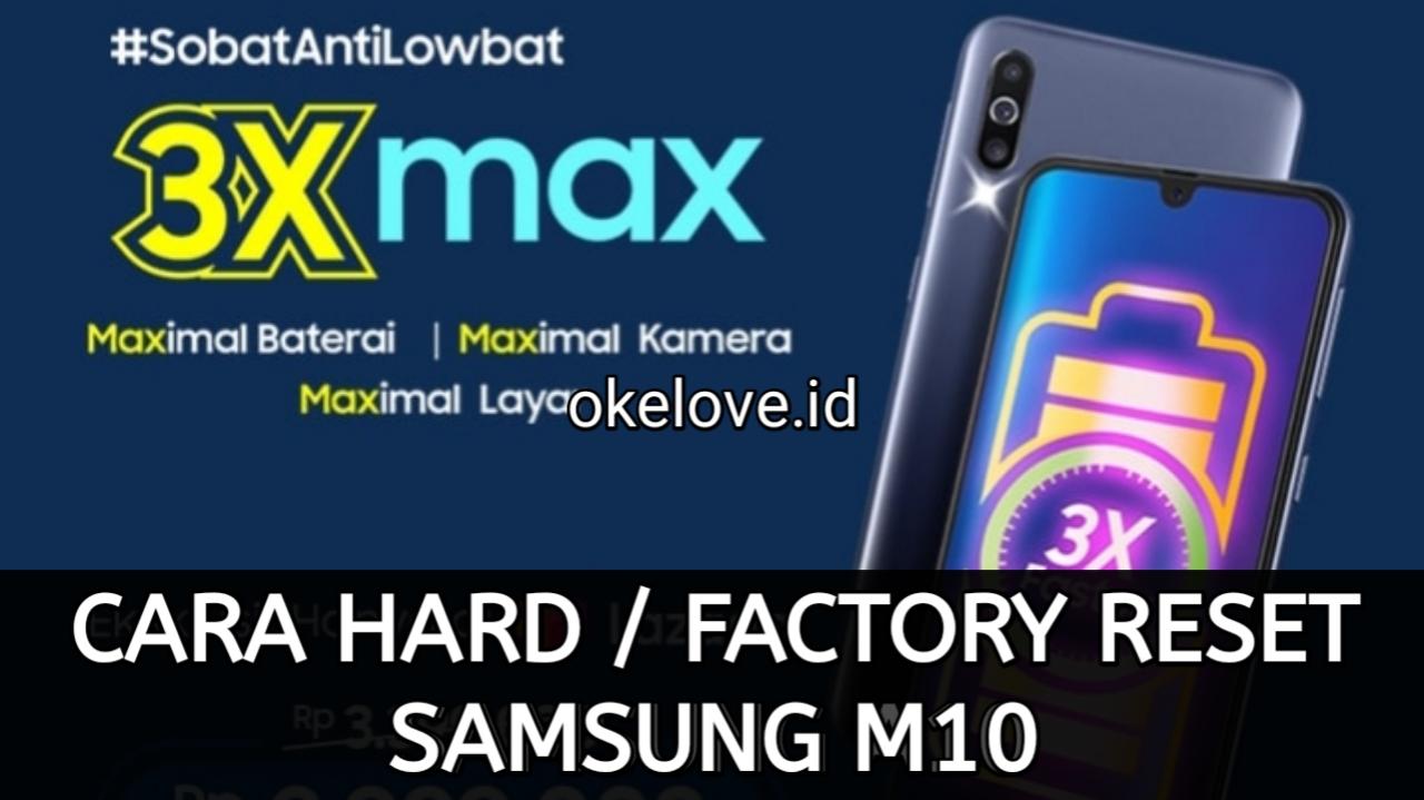 Cara Hard Reset dan Factory Reset Samsung M30