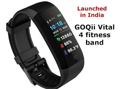 GOQii Vital 4 fitness band