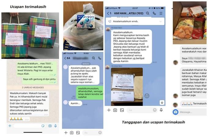 Paket Isoman PKS Untuk Warga Indonesia di Jepang