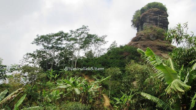 Perjalanan menuju puncak Widosari