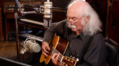 "David Crosby recording his new 'Lighthouse' album with Lauten Audio's ""Eden"" mic on vocals, and ""Atlantis"" mic on acoustic guitar David Crosby Photo Credit: Nikki Birch"