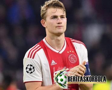 Profil Matthijs De Ligt, Kapten Ajax Yang Masih Berusia Muda