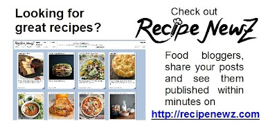 RecipeNewZ - great recipes, desserts, mains, cooking, baking