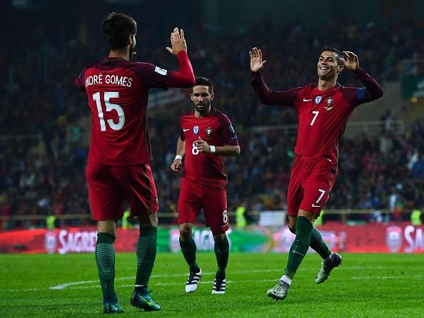 اهداف البرتغال وجزر فاروه