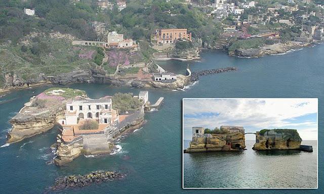 Gaiola Island, Italy
