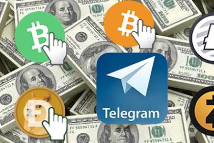 Cara mendapatkan Bitcoin Gratis Menggunakan Aplikasi Telegram