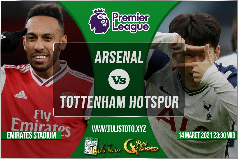 Prediksi Arsenal vs Tottenham Hotspur 14 Maret 2021