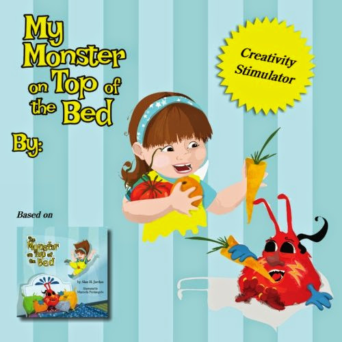 The Monster on Top of The Bed Family of Books - Review