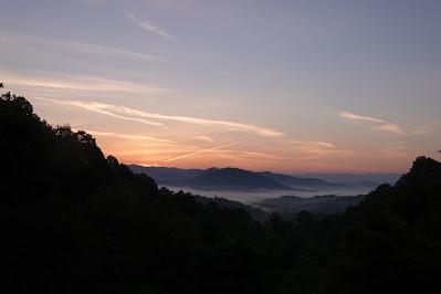 As the Sunrise Creeps Northwards