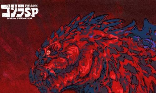 Godzilla: Singular Point' Imagem inédita pela Netflix