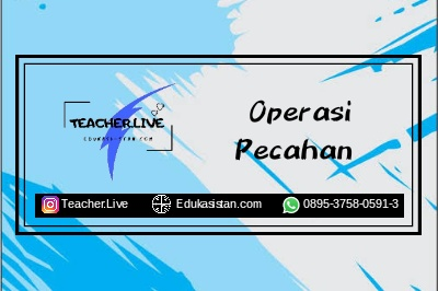 Operasi Pecahan