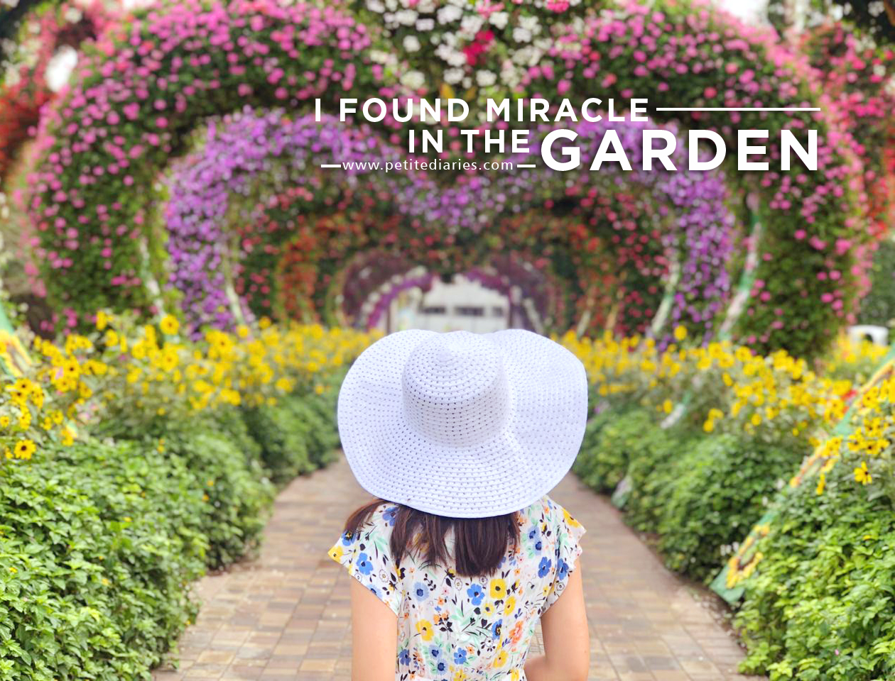 dubai trip miracle garden review