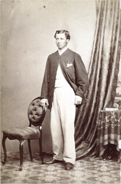 Albert Pitt, Hobart 1866