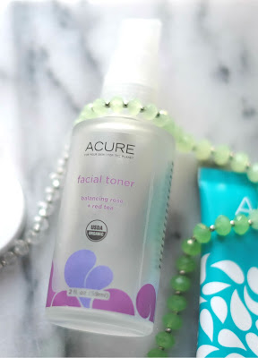 Acure Organics Facial Toner with Balancing Rose + Red Tea