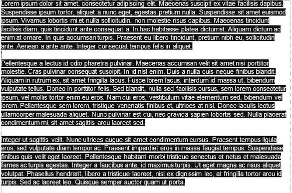 Cara Gampang  Menghilangkan Warna Background Goresan Pena Hasil Copy-Paste Di Microsoft Word