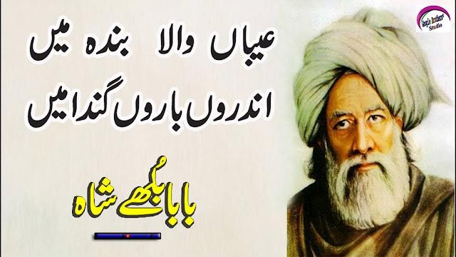 Baba Bulleh Shah Quotes In Punjabi