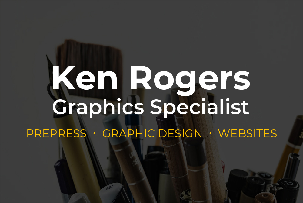 I am a prepress graphics specialist with over twenty years of experience in the printing industry, providing support for artists and graphic designers in producing large-scale artwork.