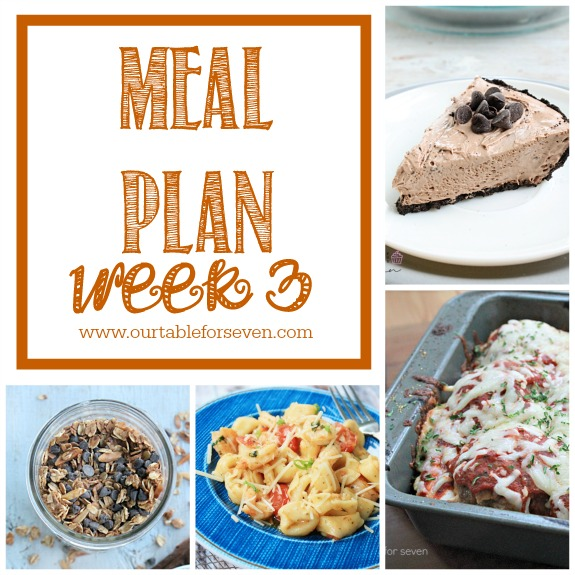Meal Plan: Week 3