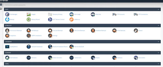 cpanel look