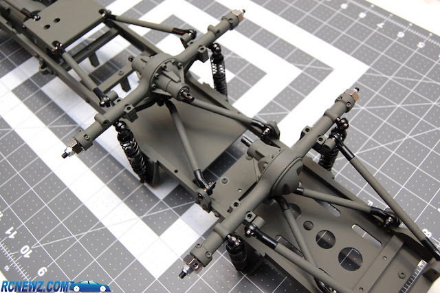 RC4WD Beast 2 assembled suspension
