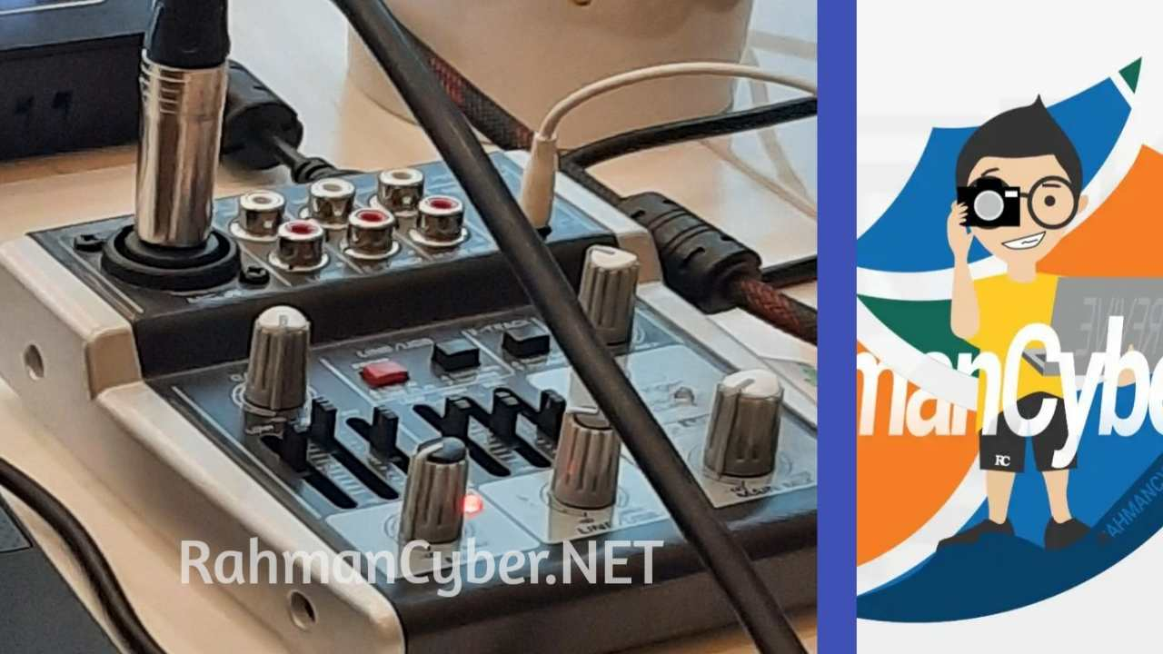 mixer audio mini