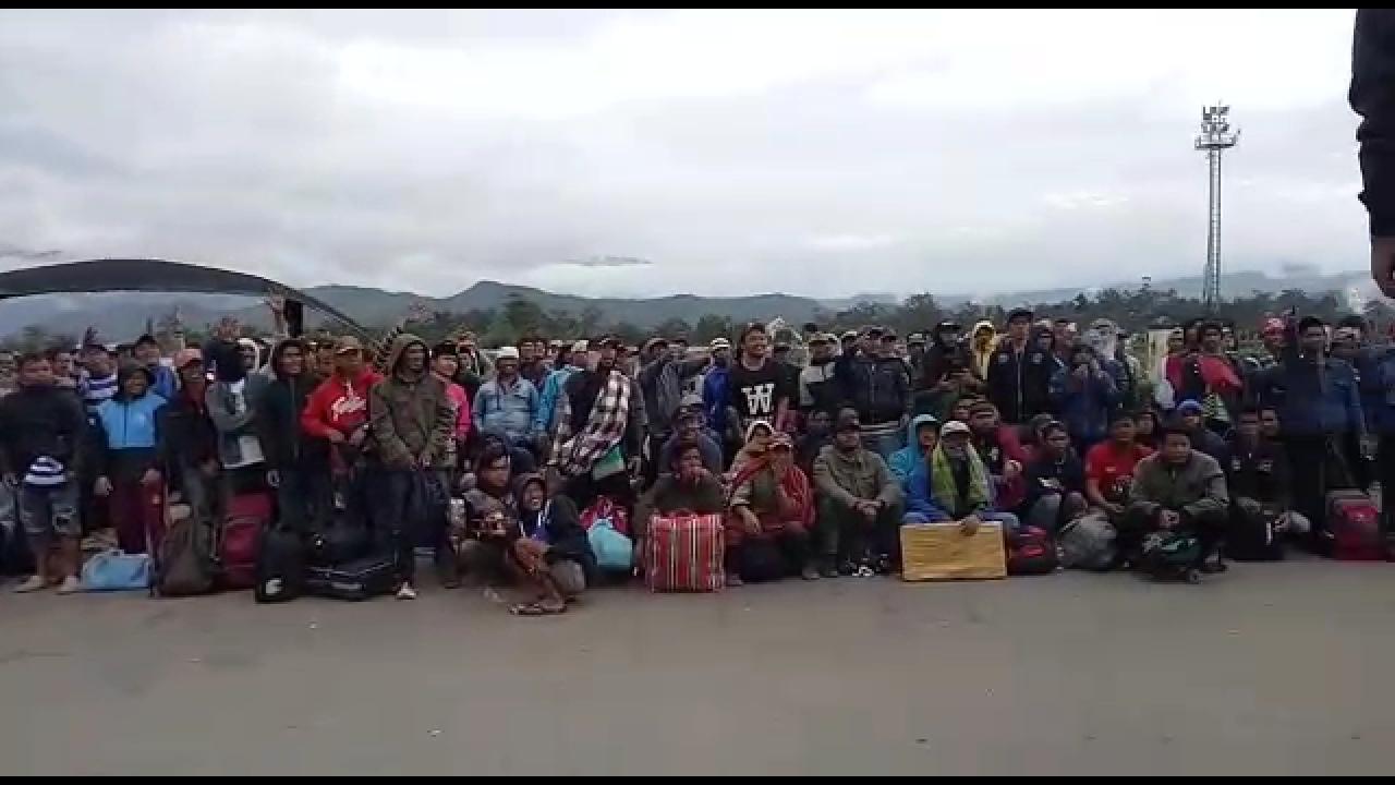 Diberitakan Puluhan, Begini Penampakkan Pengungsi di Bandara Wamena