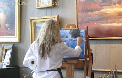 art painting workshop landscape Shanna Kunz