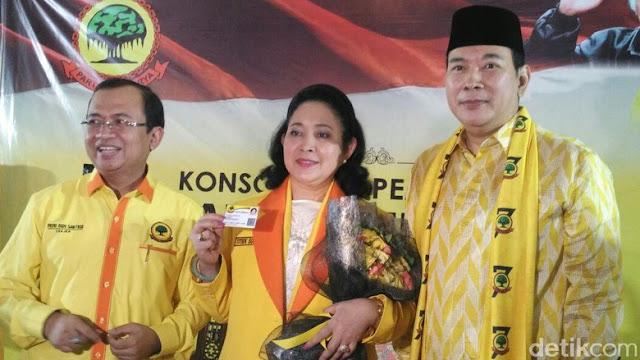 Partai Berkarya Sodorkan Tommy Jadi Capres dan Titiek Soeharto Jadi Cawapres