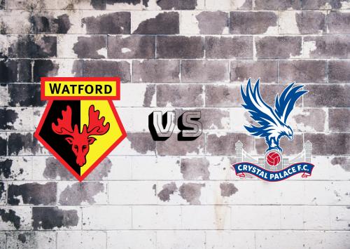 Watford vs Crystal Palace  Resumen