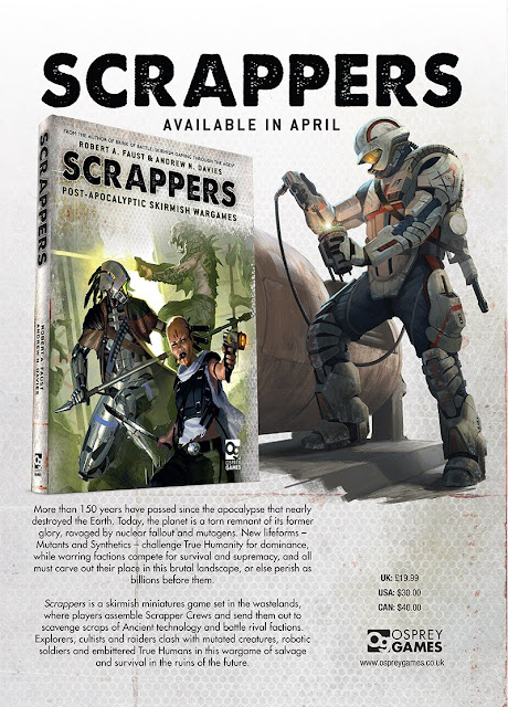 Osprey Games: New Scrappers - Post Apocalyptic Miniature Wargame Rules