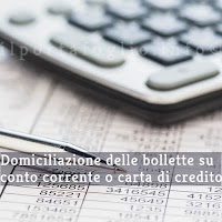 attivare sdd bancario per addebitare bollette e rate su conto o carta