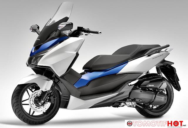 Skutik Baru Honda Forza Lokal Siap Jegal Penjualan NMAX ?