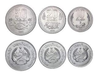 gambar uang koin kip laos