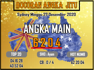 Bocoran Sydney