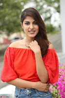 Rhea Chakraborty in Red Crop Top and Denim Shorts Spicy Pics ~  Exclusive 047.JPG