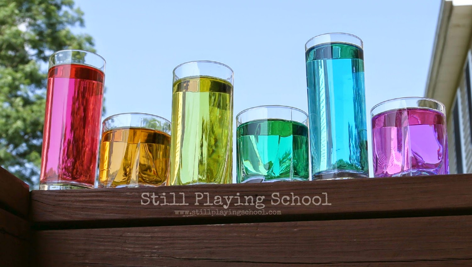 Gross Motor Color Mixing for Kids  Still Playing School