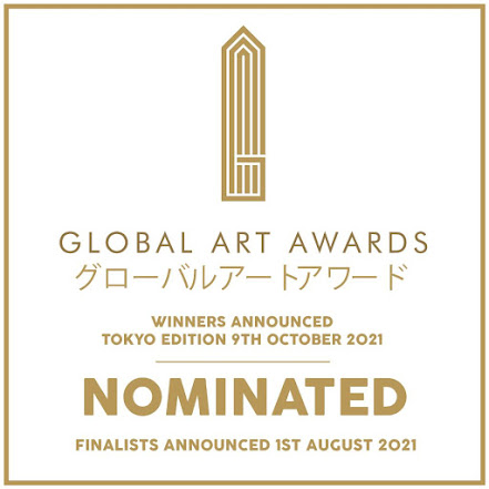 "VOTE POR RAMÓN RIVAS EN LAS NOMINACIONES ""THE GLOBAL ART AWARDS 2021"" DE TOKIO"