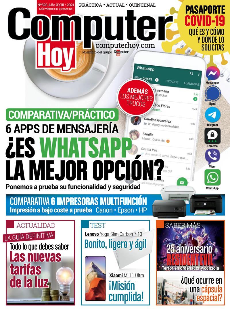 Computer Hoy Nro. 593: 6 Apps de mensajería