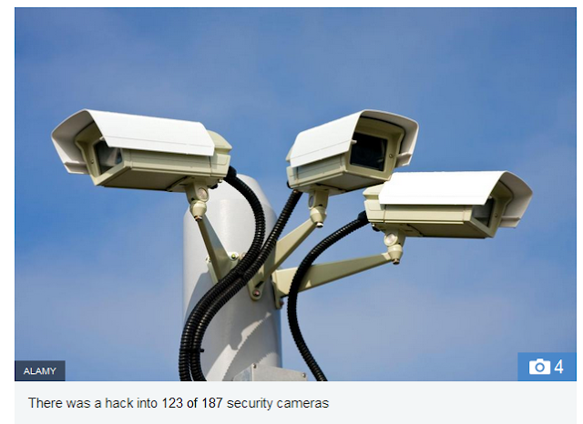Two Arrested  in London for Hacking Washington CCTV Cameras