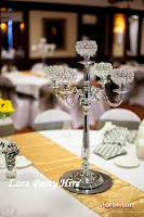 5 Arm Crystal Candelabra €20