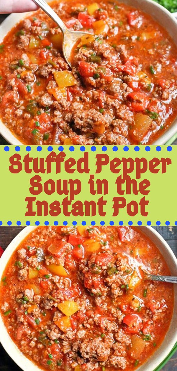 Healthy Recipes | Stuffed Pepper Soup in the Instant Pot , Healthy Recipes For Weight Loss, Healthy Recipes Easy, Healthy Recipes Dinner, Healthy Recipes Pasta, Healthy Recipes On A Budget, Healthy Recipes Breakfast, Healthy Recipes For Picky Eaters, Healthy Recipes Desserts, Healthy Recipes Clean, Healthy Recipes Snacks, Healthy Recipes Low Carb, Healthy Recipes Meal Prep, Healthy Recipes Vegetarian, Healthy Recipes Lunch, Healthy Recipes For Kids, Healthy Recipes Crock Pot, Healthy Recipes Videos, Healthy Recipes Weightloss, Healthy Recipes Chicken, Healthy Recipes Heart, Healthy Recipes For One, Healthy Recipes For Diabetics, Healthy Recipes Smoothies, Healthy Recipes For Two, Healthy Recipes Simple, Healthy Recipes For Teens, Healthy Recipes Protein, Healthy Recipes Avocado, Healthy Recipes Quinoa, Healthy Recipes Cauliflower, Healthy Recipes Pork, Healthy Recipes Steak, Healthy Recipes For School, Healthy Recipes Slimming World, Healthy Recipes Fitness, Healthy Recipes Baking, Healthy Recipes Sweet, Healthy Recipes Indian, Healthy Recipes Summer, Healthy Recipes Vegetables, Healthy Recipes Diet, Healthy Recipes No Meat, Healthy Recipes Asian, Healthy Recipes On The Go, Healthy Recipes Fast, Healthy Recipes Ground Turkey, Healthy Recipes Rice, Healthy Recipes Mexican, Healthy Recipes Fruit, Healthy Recipes Tuna, Healthy Recipes Sides, Healthy Recipes Zucchini, Healthy Recipes Broccoli, Healthy Recipes Spinach,  #healthyrecipes #recipes #food #appetizers #dinner #stuffed #pepper #soup #instantpot