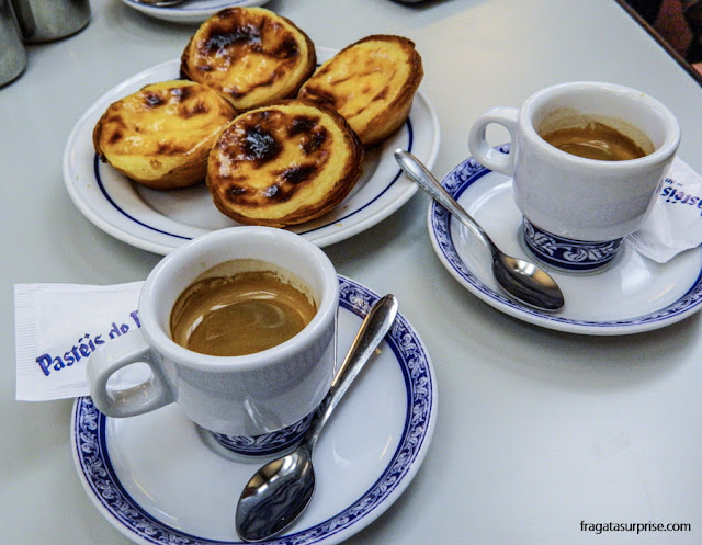 Pastéis de Belém, doces típicos de Portugal