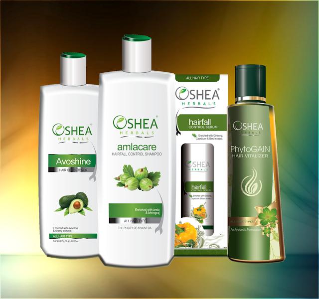 Oshea Herbals Hairfall Control Range - Review image