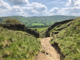 The Pennine Way at Edale