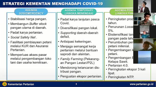 Vestanesia Gelar Webinar Kebijakan Pertanian di Era Pandemi Covid-19