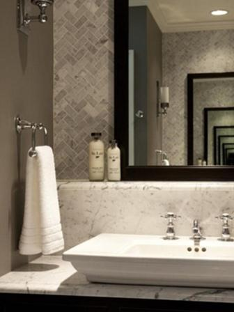 May Property Services: More Chevron for the Bath