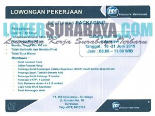 Walk In Interview di PT. ISS Indonesia - Surabaya Juni 2019