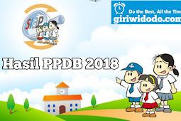Hasil PPDB Online Kabupaten Sleman 2018 Tingkat SMP
