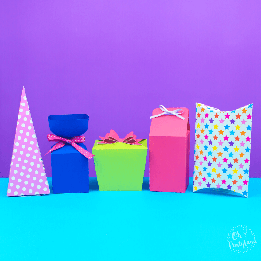 How To Make Gift Boxes - Favor Boxes