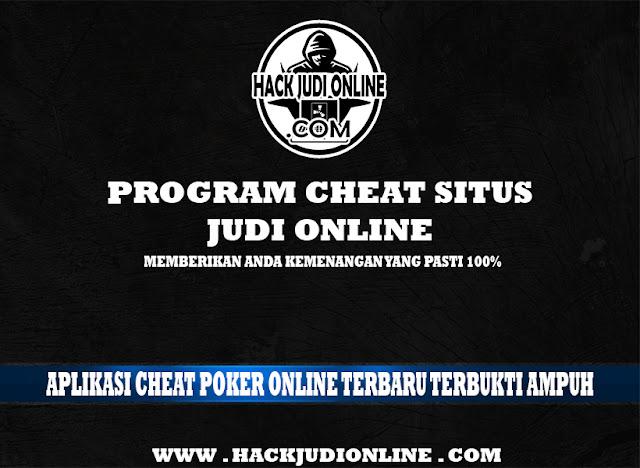 Aplikasi Cheat Poker Online Terbaru Terbukti Ampuh